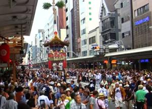 京都 祇園祭 曳き初め