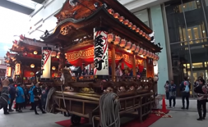 浜松祭り ソラモ 展示