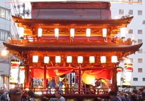 浜松祭り 御殿屋台曳き回し