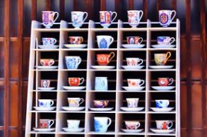 陶器市 コーヒーカップ