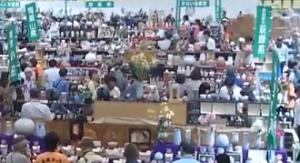 萩焼祭り 即売会