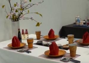 萩焼祭り テーブルコーディネート展