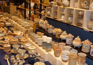 萩焼祭り 陶器