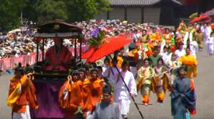 路頭の儀 斎王代 葵祭