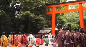 葵祭 路頭の儀