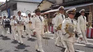 有田陶器市 オープニングパレード 佐賀県警察音楽隊