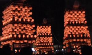 犬山祭 夜