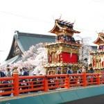 飛騨古川祭り2016の日程時間と見どころ。駐車場や臨時列車情報