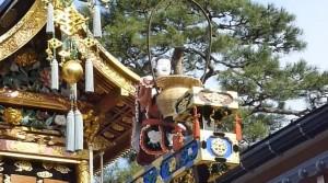 古川祭 からくり奉納