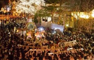 起こし太鼓 古川祭り