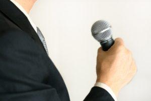 男性 スピーチ
