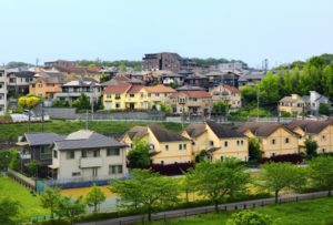 自然豊かな住宅街