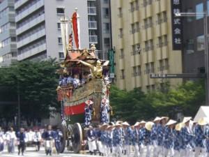 京都 祇園祭 山鉾巡行