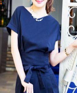 フォーマルドレス 紺