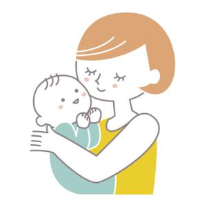 ママ 赤ちゃん イラスト
