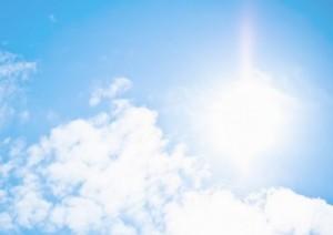 青空 太陽