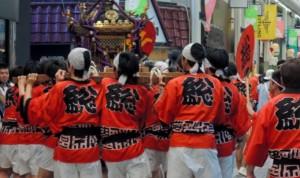 富山 山王祭 神輿巡行