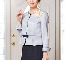 スーツ 入学式 母親 コサージュ