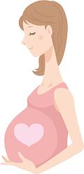 ハート 妊婦