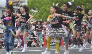 広島フラワーフェスティバル 花の総合パレード