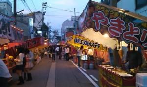 富山 山王祭 屋台