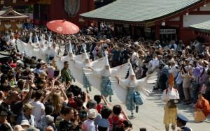 浅草三社祭 白鷺の舞