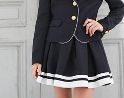 スカート 卒業式