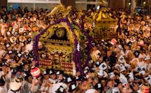 府中くらやみ祭り 神輿渡御