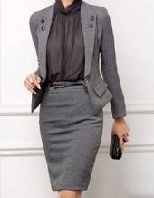 スーツ タイト 女性