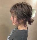 ショートヘア アップスタイル 女性
