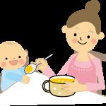 赤ちゃんの便秘の離乳食におすすめの食材。食べない時の対処。