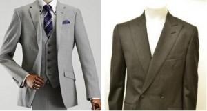 ライトグレー チャコール スーツ メンズ