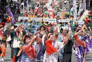 博多どんたく祭り パレード