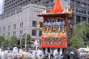 京都 祇園祭 辻回し