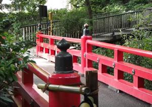 椿山荘 弁慶橋