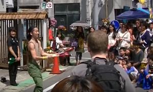 下田黒船祭 開国市 大道芸