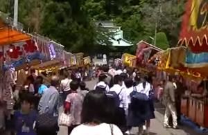 下田黒船祭 屋台