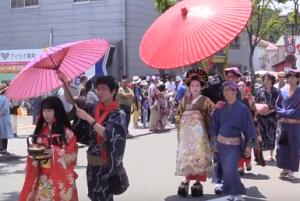 下田黒船祭 にぎわいパレード