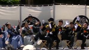 黒船祭 下田条約調印式 劇