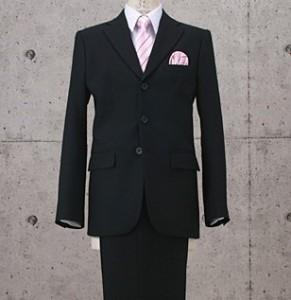 シングルスーツ 黒 メンズ