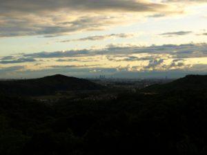 定光寺からの眺め