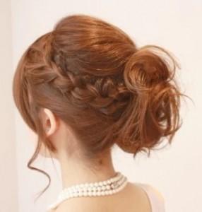 髪型 ミディアム アレンジ