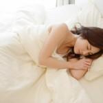 睡眠中 女性