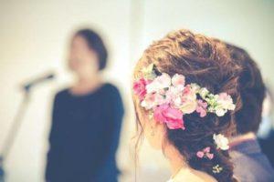 結婚式 スピーチ 女性