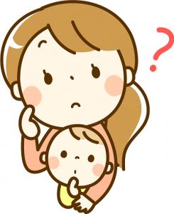 ママ 赤ちゃん はてな