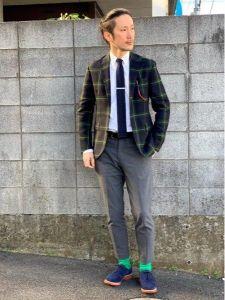 男性 服装 スーツ カジュアル