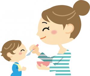 ママ 赤ちゃん 離乳食