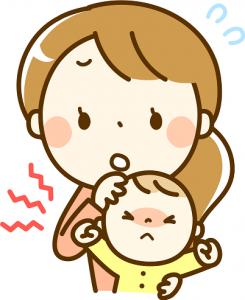 泣く赤ちゃん 困るママ