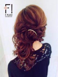 髪型 ロング サイドダウンヘア