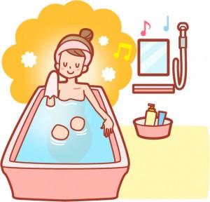 女性 お風呂